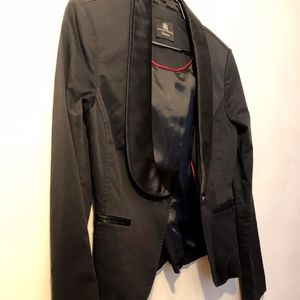 Rock & Republic Black Tuxedo Blazer